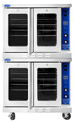(Atosa ATCO-513B-2 Double Deck Natural Gas Convection Oven)