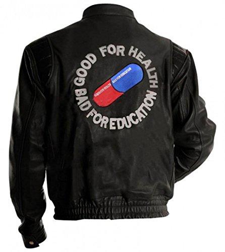 Akira Jacket Capsule Akira Shotaro Kaneda Pill Red/Black Biker Bomber Costume Leather - Jacket Costume Biker