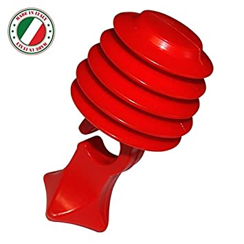 cyclingcolors Timbre Trompe avertisseur Rojo sin Pedales ...