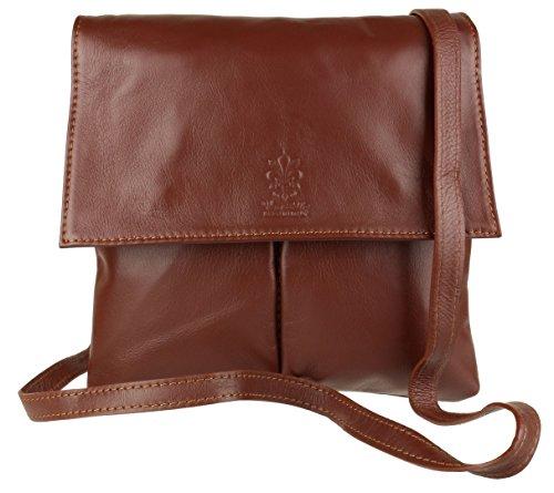 Girly Handbags - Bolso bandolera Mujer marrón oscuro