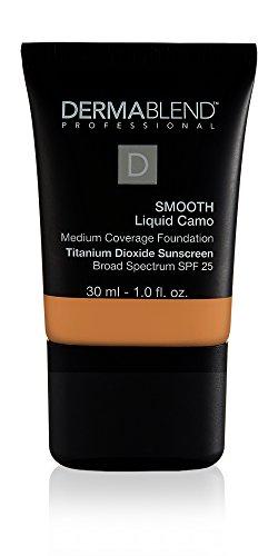 Dermablend Smooth Liquid Foundation with SPF 25, 55W Copper, 1 Fl. Oz. (Powder Copper Foundation)