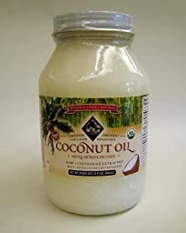 Coconut Oil, Virgin, Centrifuge Extracted, Certified Organic, 32 Fl. Oz.
