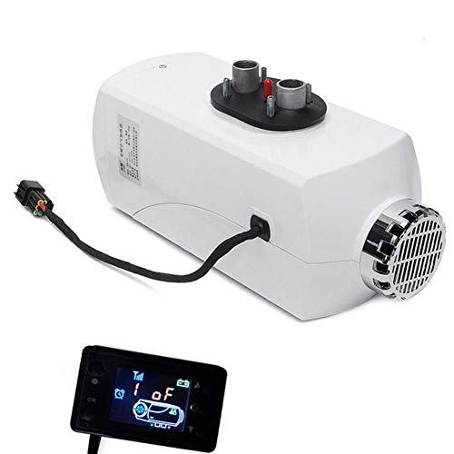 AUTOECHO Car Heater, 5KW 12V/24V Aluminum Alloy Housing Air Heater With LCD Display, Parking Heater Cars Trucks Diesel Heater for Vans, RV, Motorhome Trailer, Boats: Kitchen & Home