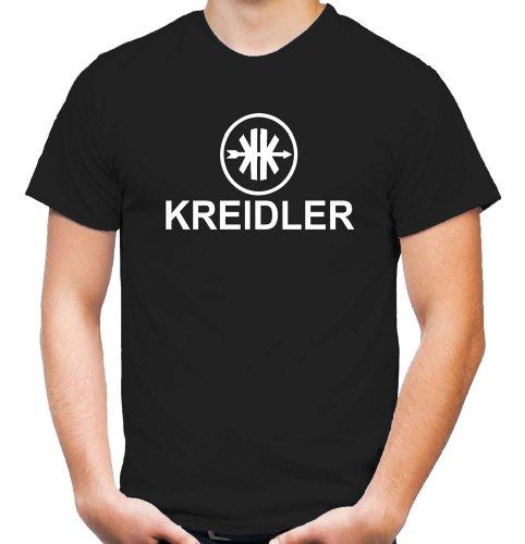 Kreidler Logo T-Shirt | Moped | Kult | Fun | Männer | Herren | Fahrzeugbau | Mofa | Mokick | Leichtkrafträder | Kleinkrafträder | Anton | Pan