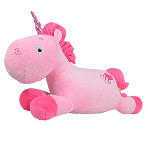 Amazon.com: Kenmont Unicorn Stuffed Plush Pillow Cushion Soft Toys Dolls Gifts, Pink: Toys & Games