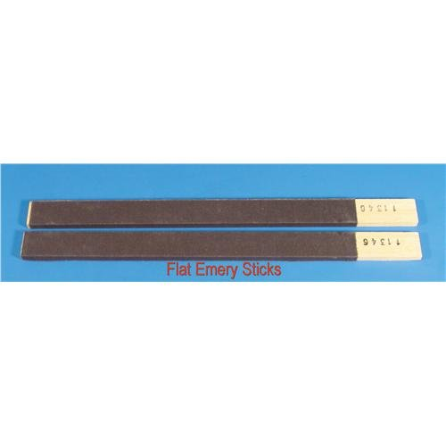 EMS 62119-03 Flat Emery Stick, 3/O Grit (Pack of 12) Electron Microscopy Sciences