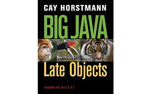 big java 5th edition guided solutions browse manual guides u2022 rh npiplus co Cay Horstmann Java for Everyone Horstmann Big Java