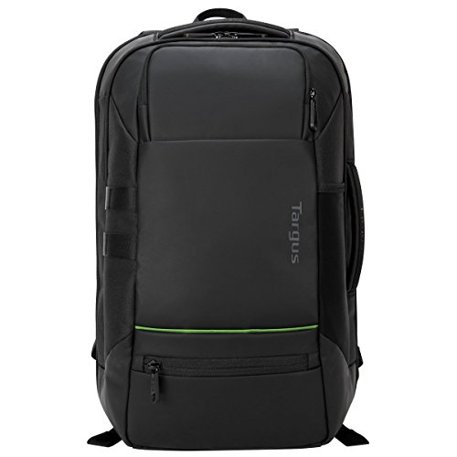 Balance Backpack - Targus Balance EcoSmart Travel and Checkpoint-Friendly Laptop Backpack with Protective Sleeve for 15.6-Inch Laptop and Felted Phone Pocket, Black (TSB921US)