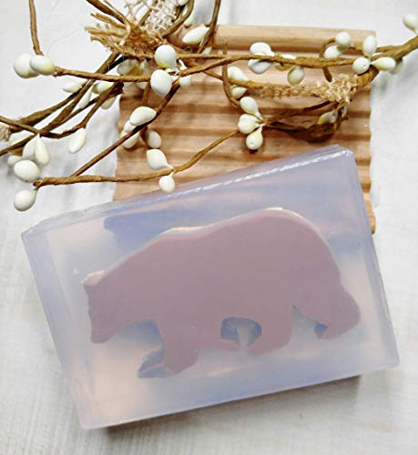 Walking Bear Silicone Mold for Soap, Candles, Chocolate, etc. from Laurel Arts