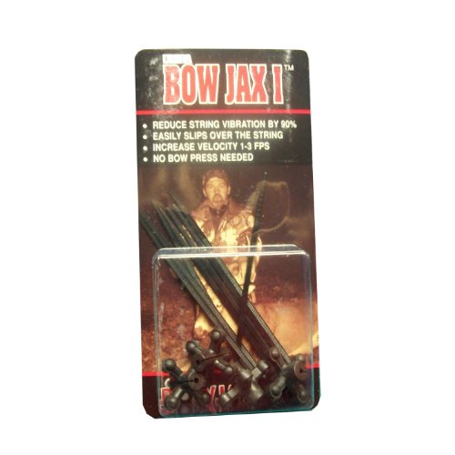 Bowjax 1034 Ultra I Dampener-Pack of 4 (Black)