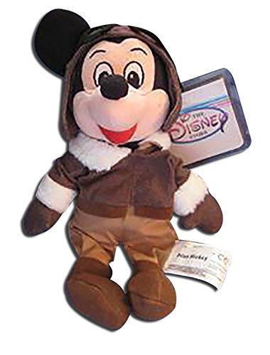 (Disney Store Plush Mickey Mouse the Pilot Bean Bag)