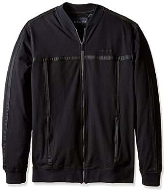 Sean John Men's Big-Tall Challenger Jacket, PM Black, 3X/Big
