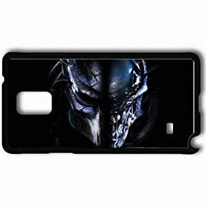 Personalized Samsung Note 4 Cell phone Case/Cover Skin Aliens Vs Predator Requiem Black