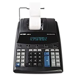 Victor 1460-4 12 Digit Recycled Heavy Duty Print
