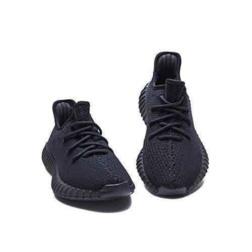 HongYo 350 V2 Turnschuhe Männer Frauen Atmungsaktives Mesh Sport Laufschuhe Alle Serien Keep Updating Alle schwarzen Sneaker
