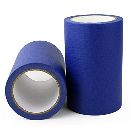 "Blue Painters Tape for 3D Printers 6.25"" x 100"""
