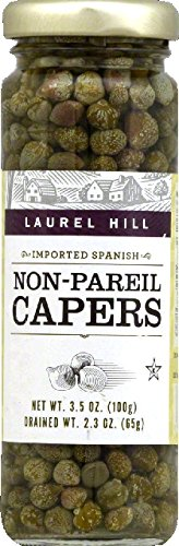 Laurel Hill Caper Non Pareil, 3.5 Oz. Case of 12