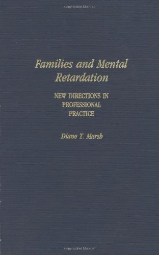 Download Families and Mental Retardation: New Directions in Professional Practice Pdf