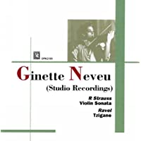 Ginette Neveu Studio Recordings