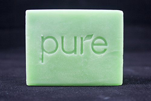 PURE Essential Oil Handmade Aromatherapy Bath Soap Bar. Tea Tree Artisan Face & Body Soap Gift for Men, Cold Process Organic Soap Bar, Natural Tea Tree with Jojoba Oil. Single - Soap Scented Bar Organics
