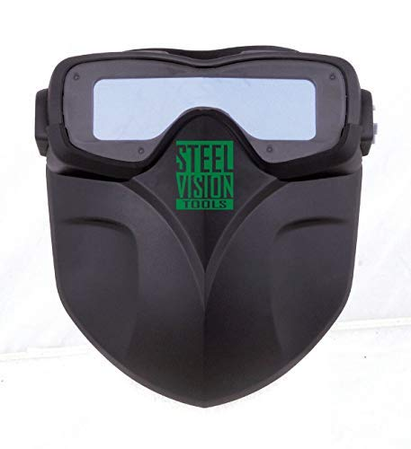 Steel Vision 32000 Auto Darkening Welding Helmet Mask Kit - Welding Goggles, Mask, Hood & Bump Cap by Steel Vision (Image #5)