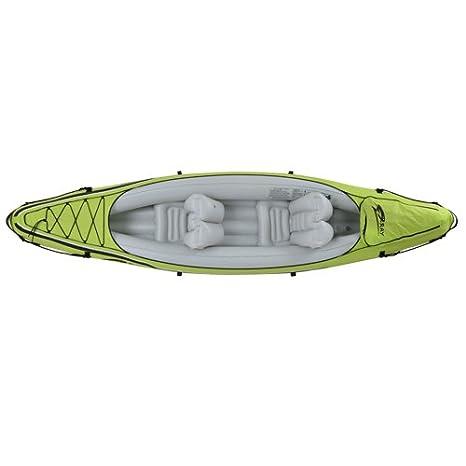 JILONG JL007234N 2personas(s) Cal, Color Blanco PVC Kayak Inflable Kayak Deportivo - Kayaks Deportivos (Kayak Inflable, 2 Personas(s), 165 kg, Cal, ...
