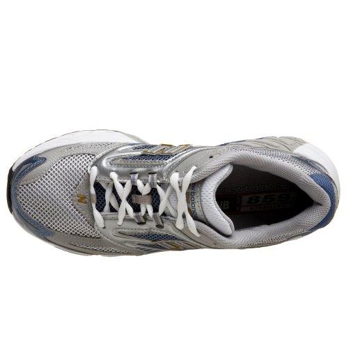 New Balance Women's WR859 Running Shoe,Grey/Powder Blue,10 B by New Balance (Image #7)