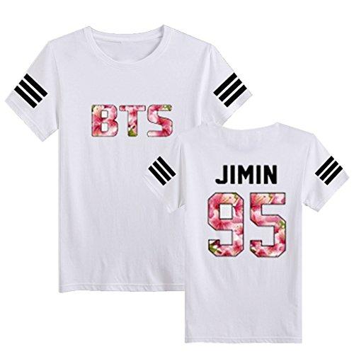 Kpop BTS Tshirt Bangtan Boys IN Bloom T-shirt Rap Monster Suga Rap Monster Tee