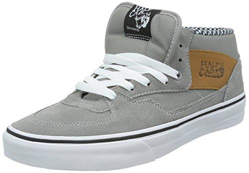 Vans Half Cab Herren Runde Kappe Wildleder Grau Fashion Sneakers Frostgrau