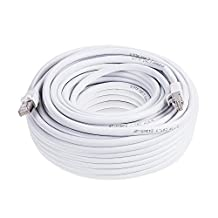 PrimeCables © 75ft Cat7 Ethernet Cable 10Gbps 600Mhz Cat 7 S/STP Molded Network Lan Cable~Lifetime warranty