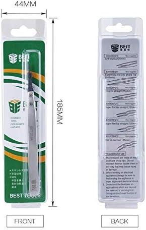 Repairs Tools BST-259A Stainless Steel Snti Static Medical Tweezer Repairs Kits
