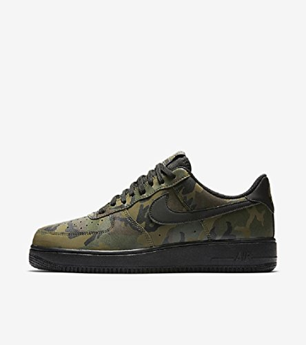 sports shoes 954b1 3cf2a Galleon - Nike Mens Air Force 1  07 LV8 Reflective Camo Shoes Medium Olive  Black 718152-203 Size 12