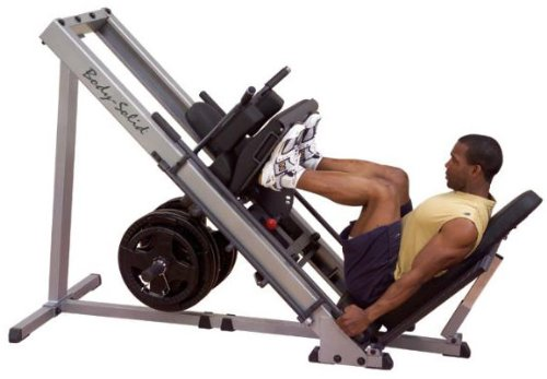 Body-Solid Leg Press & Hack Squat by Ironcompany.com