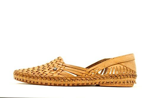 Pour des hommes Chaussures marron Appartement Belle Kolhapuri style Chappal Cuir Fiasco Slippers Flâneur