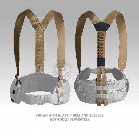 Crye Precision Coyote Brown Belt Suspenders