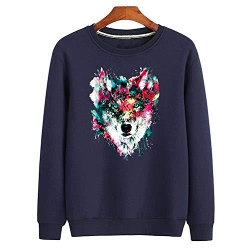 Bleu Sweats Homme Tricot Maille Tookang Pull Pullover Sweatshirt Pour En 03 waqzOSx6