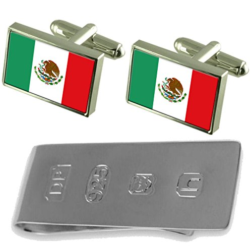 James Cufflinks México México Bond amp; Money Flag Flag Clip tqXzwvZB