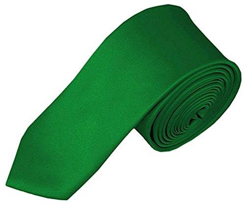 Kelly Green Boys Tie - 5