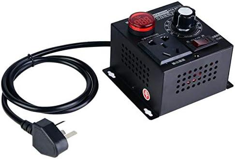 SHIJING Regulador de Voltaje Dimmer AC 220V 4000W Regulador de ...
