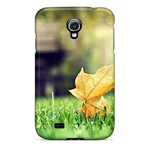 Excellent Hard Cell-phone Cases For Samsung Galaxy S4 (CHW6979UZcL) Unique Design Lifelike The First Sign Of Autumn Image