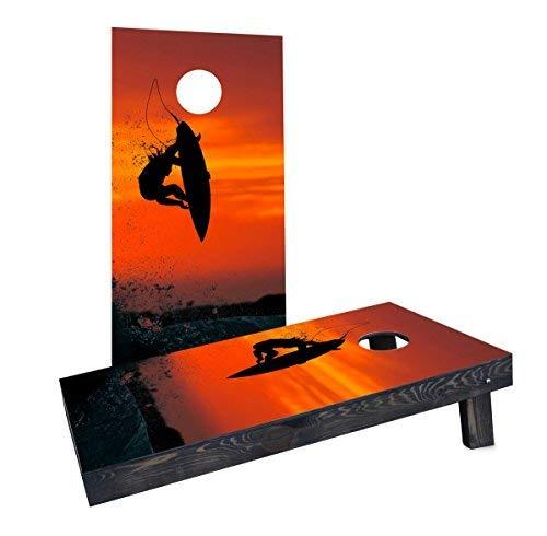 2019年新作 Custom Cornhole Boards Incorporated [並行輸入品] CCB500-2x4-C Surfer with Red Red Surfer Sky Cornhole Boards [並行輸入品] B07HLHL46W, レスリングマーチャンダイズ:fe11bbce --- ballyshannonshow.com