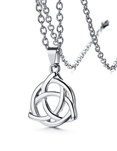 Triple Triangle Gold Pendant Choker Necklace - 4
