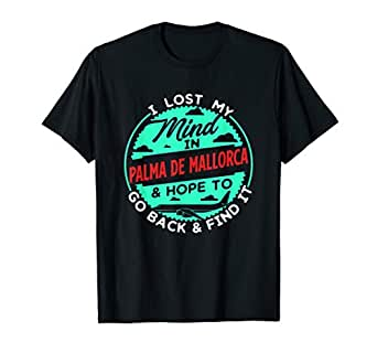 Amazon.com: Palma de Mallorca Tourist - Camiseta para viajes ...