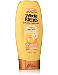 Garnier Whole Blends Repairing Conditioner Honey Treasures, Damaged Hair, 12.5 fl. oz.