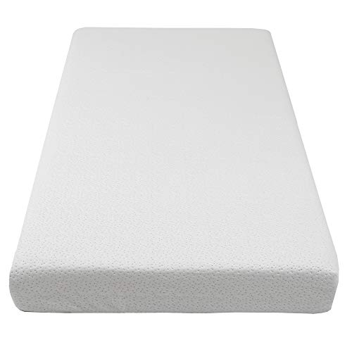 41CTycdMTqL - Clevr Premium Memory Foam Baby & Toddler Crib Mattress With Waterproof Ultra Soft Bamboo Fabric Cover