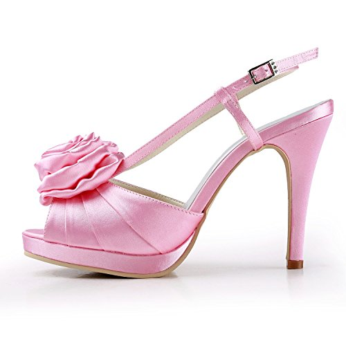 Femme 10cm Rose Minitoo Heel Pink Escarpins 38 pour OE8axwnqR1