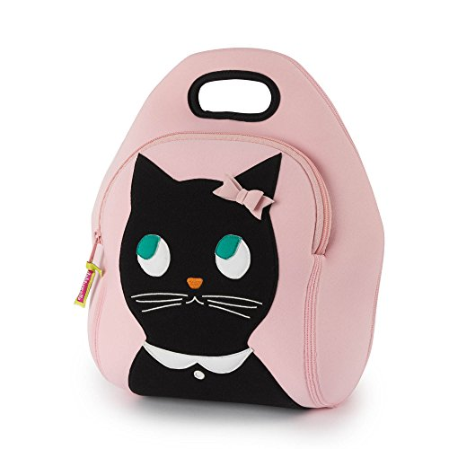 Dabbawalla Bags (Kitchen) KTLB Miss Kitty Insulated Washable Lunch Bag, 12