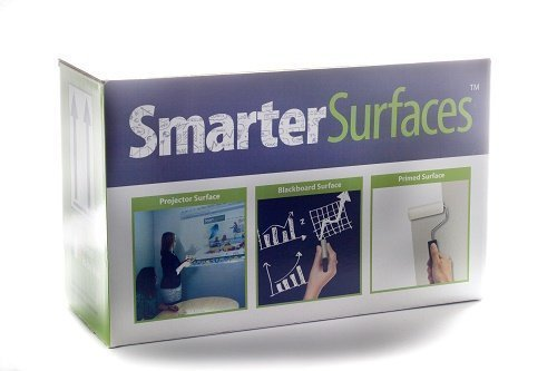 Dry-Erase Paint - 12m² / 129ft² Clear by Smarter Surfaces