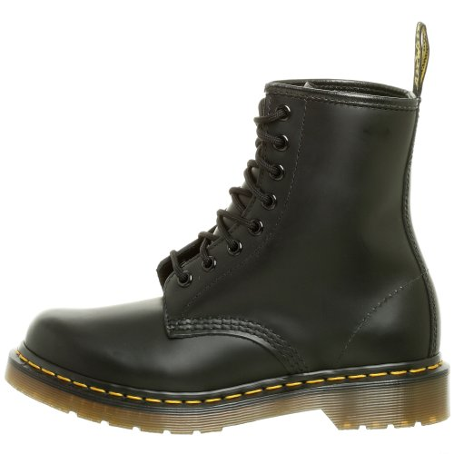 Dr. Marten's Women's 1460 8-Eye Patent Leather Boots, Black Smooth Leather, 7 F(M) UK / 9 B(M) US Women / 8 D(M) US Men - Image 5
