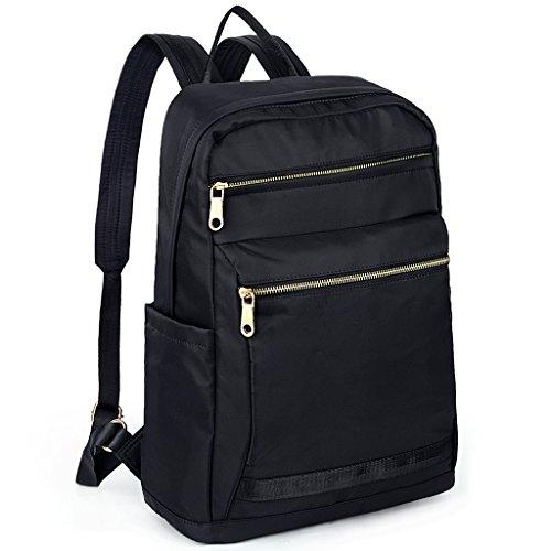 Nylon Rucksack (UTO Backpack Oxford Waterproof Cloth Nylon Rucksack School College Bookbag Shoulder Purse B 316)